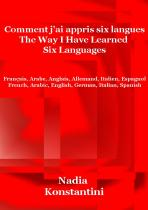 Ebook - Savoirs - The way I have learned six languages - Nadia Konstantini
